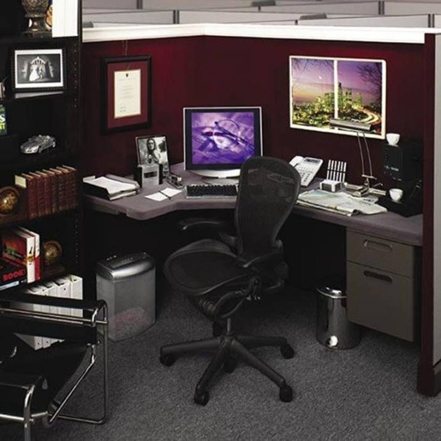 Cubicle Workspace Decorating Ideas 32