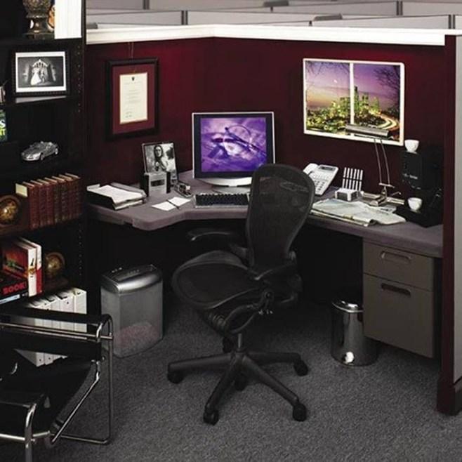 Cubicle Workspace Decorating Ideas 32