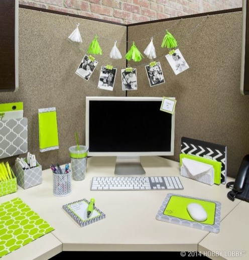 Cubicle Workspace Decorating Ideas 41
