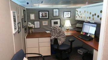 Cubicle Workspace Decorating Ideas 48