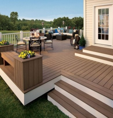 DIY Patio Deck Decoration Ideas on A Budget 16