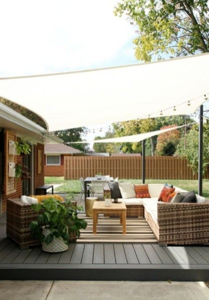 DIY Patio Deck Decoration Ideas on A Budget 33