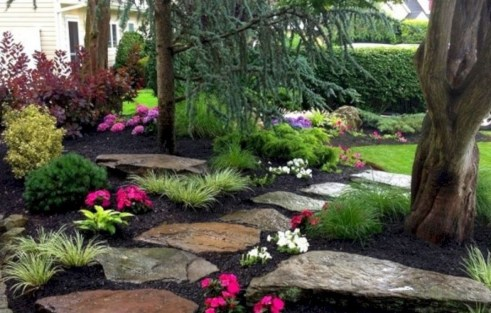 Examples Landscaping Ideas You can Put in House Page 01