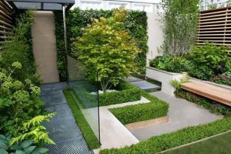 Examples Landscaping Ideas You can Put in House Page 03