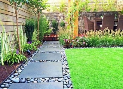 Examples Landscaping Ideas You can Put in House Page 32