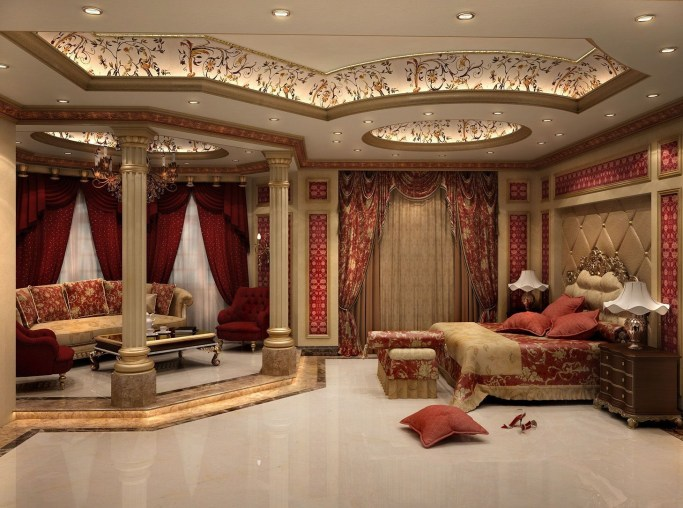 Luxury Huge Bedroom Decorating Ideas 24