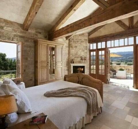 Outstanding Rustic Master Bedroom Decorating Ideas 14