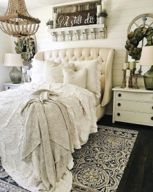 Outstanding Rustic Master Bedroom Decorating Ideas 19