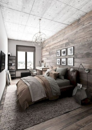 Outstanding Rustic Master Bedroom Decorating Ideas 23