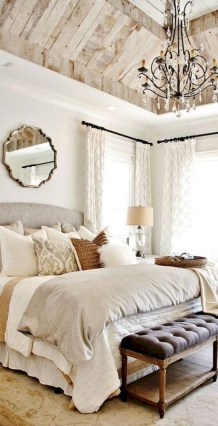 Outstanding Rustic Master Bedroom Decorating Ideas 37