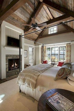 Outstanding Rustic Master Bedroom Decorating Ideas 41