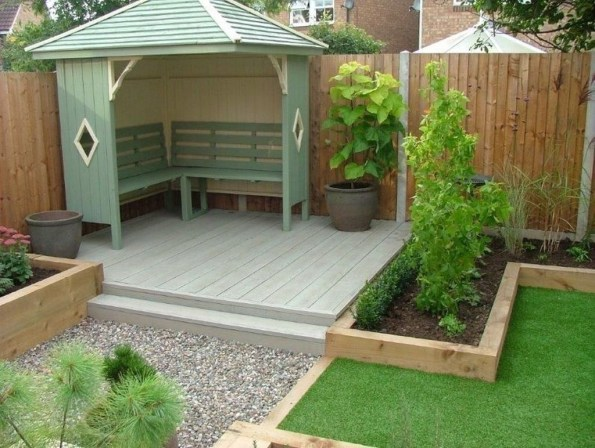 Small Backyard Landscaping Ideas And Design On A Budget 27