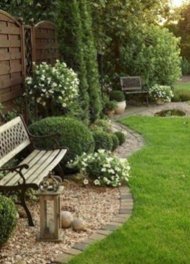 Small Garden Design Ideas With Awesome Design 47