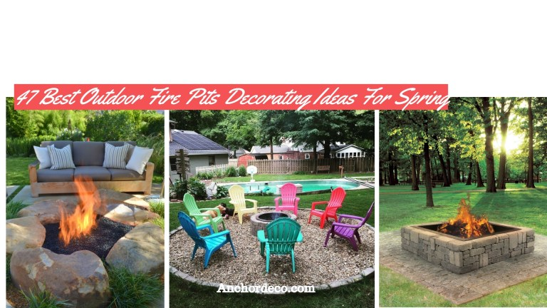 47 Best Outdoor Fire Pits Decorating Ideas For Spring