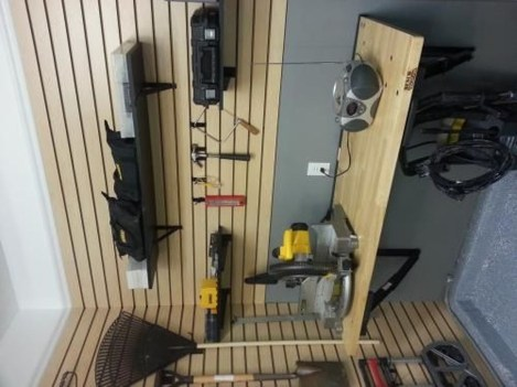 Amazing DIY and Hack Garage Storage Organization 20