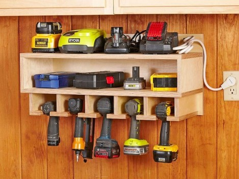 Amazing DIY and Hack Garage Storage Organization 22