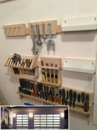 Amazing DIY and Hack Garage Storage Organization 34