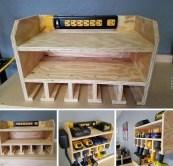 Amazing DIY and Hack Garage Storage Organization 46