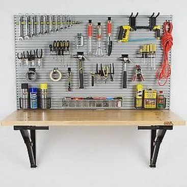 Amazing DIY and Hack Garage Storage Organization 48
