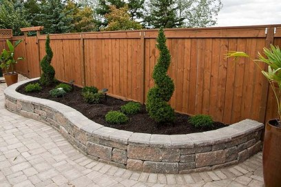 Amazing Privacy Fence Ideas to Perfect Your Backyard 18