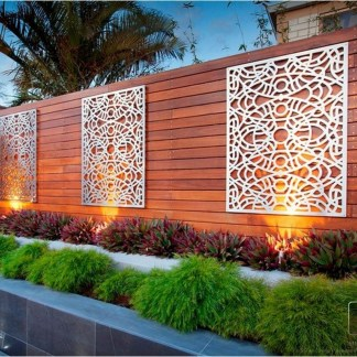 Amazing Privacy Fence Ideas to Perfect Your Backyard 21