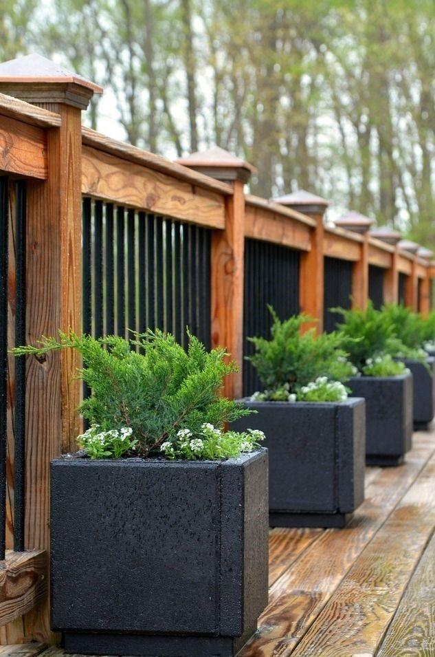 Amazingly Creative Long Planter Ideas for Your Patio 19