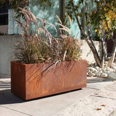 Amazingly Creative Long Planter Ideas for Your Patio 40
