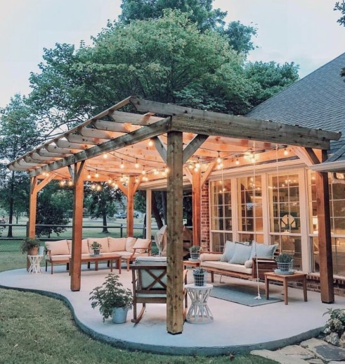 Awesome Backyard Patio Deck Design and Decor Ideas 11