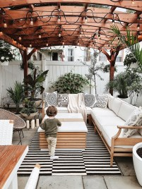 Awesome Backyard Patio Deck Design and Decor Ideas 26
