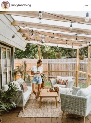 Awesome Backyard Patio Deck Design and Decor Ideas 34