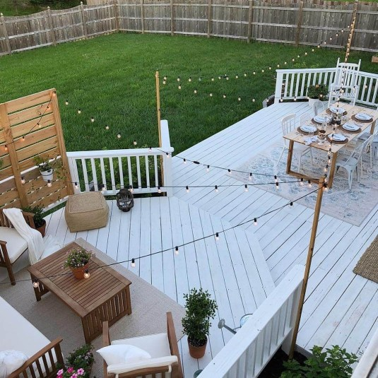 Awesome Backyard Patio Deck Design and Decor Ideas 49