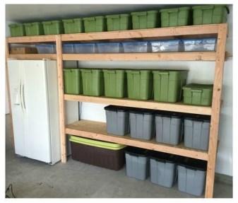 Best DIY Garage Storage with Rack 19