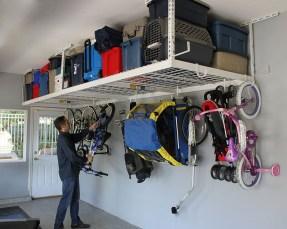 Best DIY Garage Storage with Rack 43