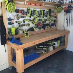 Best DIY Garage Storage with Rack 52