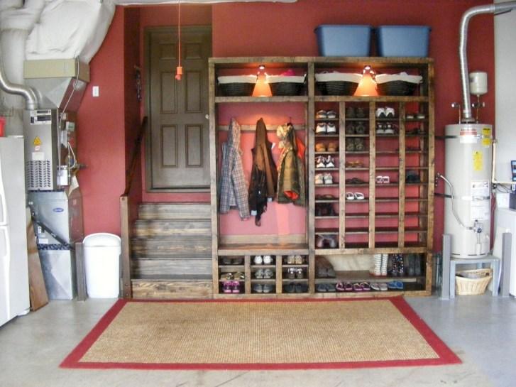 Best DIY Garage Storage with Rack 55