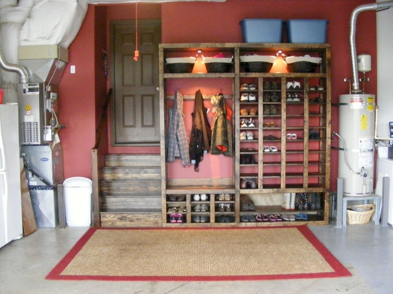 Best DIY Garage Storage with Rack 55