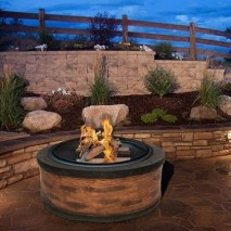 Best Outdoor Fire Pits Decorating Ideas For Spring 03