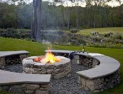 Best Outdoor Fire Pits Decorating Ideas For Spring 07