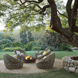 Best Outdoor Fire Pits Decorating Ideas For Spring 08
