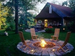 Best Outdoor Fire Pits Decorating Ideas For Spring 18