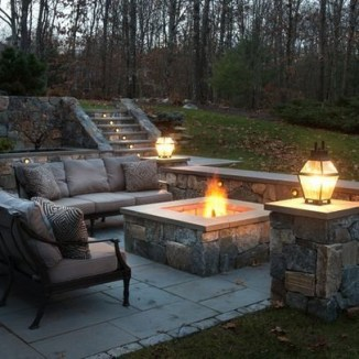 Best Outdoor Fire Pits Decorating Ideas For Spring 27