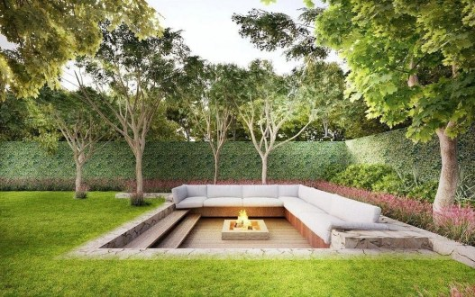Best Outdoor Fire Pits Decorating Ideas For Spring 30