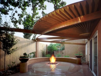 Best Outdoor Fire Pits Decorating Ideas For Spring 32
