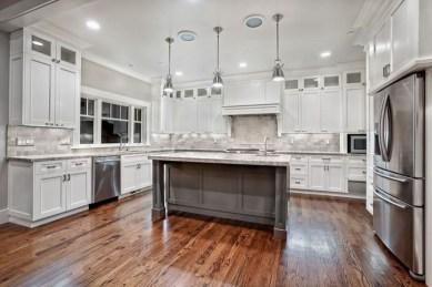 Classy Kitchen Floor Ideas with Hardwood 01