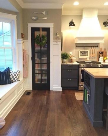Classy Kitchen Floor Ideas with Hardwood 19