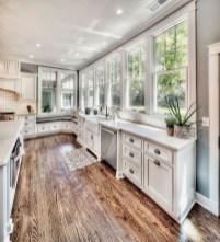 Classy Kitchen Floor Ideas with Hardwood 29