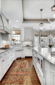 Classy Kitchen Floor Ideas with Hardwood 34