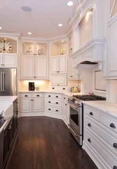 Classy Kitchen Floor Ideas with Hardwood 53