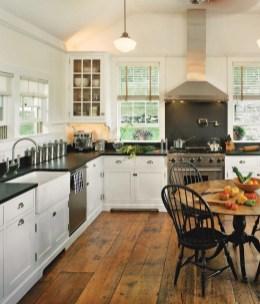 Classy Kitchen Floor Ideas with Hardwood 59