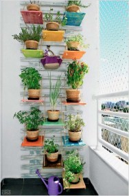 Cool DIY Vertical Garden for Front Porch Ideas 63
